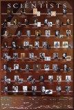 Scientifiques célèbres Posters