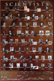 Scienziati famosi Poster