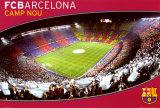 FCB- Barcelona Camp Nou Kunstdrucke