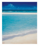 Sand Bar 1 Collectable Print by Derek Hare