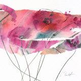 Modern Poppy IV Art by Marta Peuckert