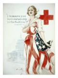 I Summon You to Comradeship in the Red Cross, Woodrow Wilson Julisteet tekijänä Harrison Fisher
