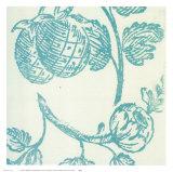 Pineapple Floral Plakater af Swan Papel