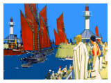 Lowestoft Giclee Print by Kenneth Shoesmith