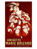 Anisette Marie Brizard Gicléetryck av Leonetto Cappiello
