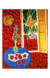 Red Interior Giclee Print by Henri Matisse