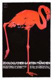Zoologischer Garten München Giclée-Druck