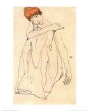 Die Tanzerin Poster par Egon Schiele
