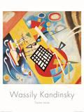 Trame Noire, c.1922 Plakater av Wassily Kandinsky