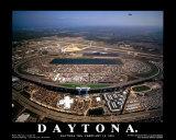 Daytona (Daytona 500, February 18, 2001) Poster by Mike Smith