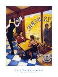 Café de la pâtisserie Affiches par David Marrocco