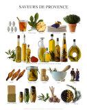 Kostproben der Provence Kunstdrucke