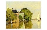 Landscape at Zaandam IV Lámina giclée por Claude Monet