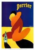 Perrier Plakater av Bernard Villemot