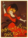 Absinthe Ducros Fils Posters tekijänä Leonetto Cappiello