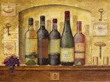 Weinsammlung I Kunstdrucke von G.p. Mepas