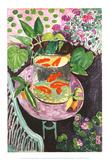 Peces dorados Láminas por Henri Matisse