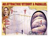 An Attraction Without a Parallel Lámina giclée