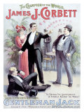 Gentleman Jack Impressão giclée