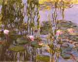 Wasserlilien Kunstdrucke von Claude Monet