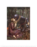 Die schöne Frau ohne Gnade Kunst von John William Waterhouse
