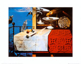 Nature Morte Vivente Posters av Salvador Dalí