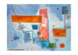 J Contard Kunstdrucke von Wassily Kandinsky