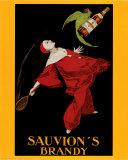 Sauvion's Brandy Poster