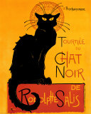 Tournée du Chat Noir, c.1896 Photo by Théophile Alexandre Steinlen