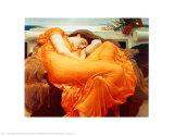 Flaming June, ca 1895|Flaming June, c.1895 Posters av Frederick Leighton