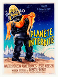 Planete Interdite Giclée-tryk af Roger Soubie