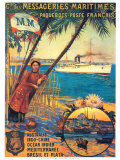Messageries Maritime Posters por David Dellepiane