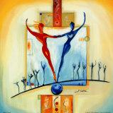 Parfaitement équilibré Affiche par Alfred Gockel