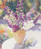 Vase de fleurs Affiches par Edward Noott