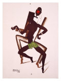 Bal Negre Giclee Print by Paul Colin