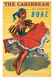 Karibik Poster von  Ayes