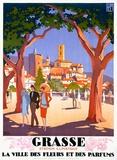 Grasse Giclee-trykk av Roger Broders