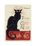 Tournée du Chat Noir, ca. 1896 Plakater av Théophile Alexandre Steinlen