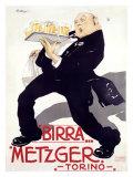 Birra Metzger Giclée-tryk af  Mateldi