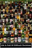 Bierflaschen Poster