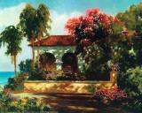 Paradis II Affiche par V. Dolgov