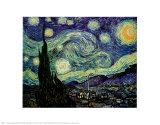 Starry Night, c.1889 Prints by Vincent van Gogh