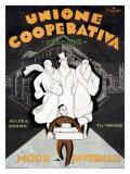 Unione Cooperativa Giclée-tryk af Noel Fontanet