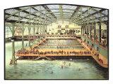 Swimming Pool Giclée-Druck