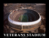 Veterans Stadium - Philadelphia Plakater