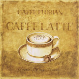 Caffe Latte Posters by Herve Libaud