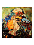 Baby Impressão giclée por Gustav Klimt