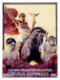 Young Olympic Games, c.1914 Giclee Print by  Elzingre