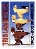 El trío Lambertys Lámina giclée por H. Amoro