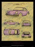 Porsche Patent Kunstdrucke